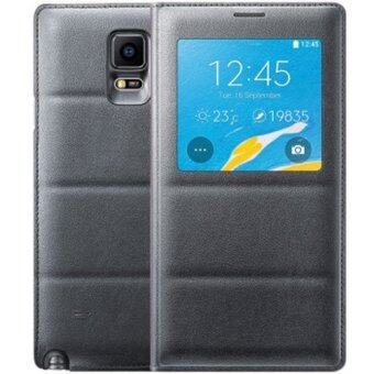 Smart View Auto Sleep Wake Shell With Original Chip Battery BagLeather Case Flip Cover For Samsung