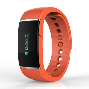 Smart Watch Bluetooth S55 Watch Bracelets For IOS Android Phone orange - intl