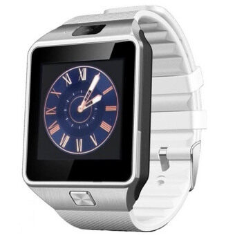 Smart Watch DZ09 For Android And iOS (White) - intl