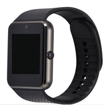 Smart Watch GT08 Clock Sync Notifier With Sim CardBluetoothConnectivity for Apple iphone Android Phone SmartwatchWatch Black - intl
