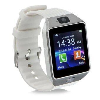 Smart Watch รุ่น DZ09 นาฬิกาโทรศัพท์มีกล้อง (สีขาว)