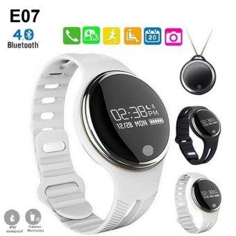 Smart Wristband E07 for Android and IOS Smart Watch (White) - intl