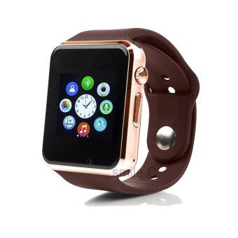 smile C นาฬิกาโทรศัพท์ Smart Watch รุ่น A1 Phone Watch (Gold)