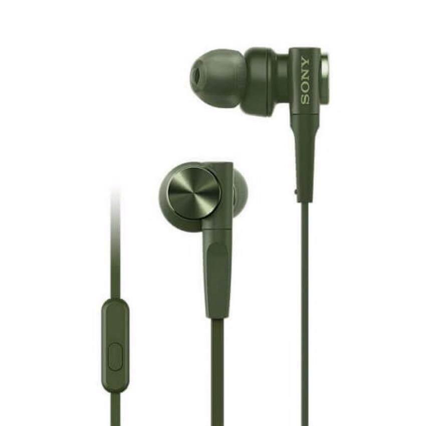 Sony Extra Bass In-Ear Headphones รุ่น MDR-XB55AP(ศูนย์ไทย ประกัน 1 ปี)