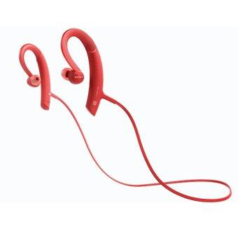 SONY MDR-XB80BSหูฟังWIRELESS STEREOHEADSET สีแดง