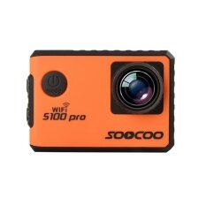 Soocoo S100pro 4k Uhd Wifi Sports Camera Touch Screen Gyro With Gps Extension(gps Model Not Include) Voice Control Action Cam - Intl ราคา 4,970 บาท