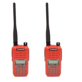 Speeder วิทยุสื่อสาร อุปกรณ์ครบชุด SP-IX5 2 ตัว กำลังส่ง 5 วัตต์ ถูกกฏหมาย