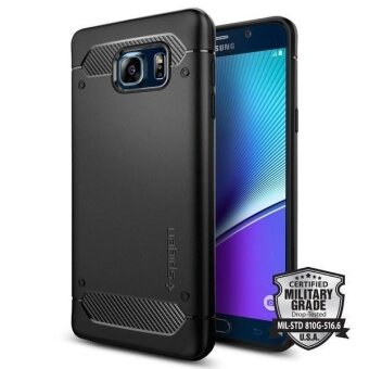 Spigen Case Cover Casing for Samsung Galaxy Note 5 (Black) - intl