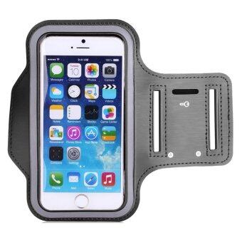Sport Armband Mobile Phone Cases for Samsung Galaxy S6 Edge (Grey)
