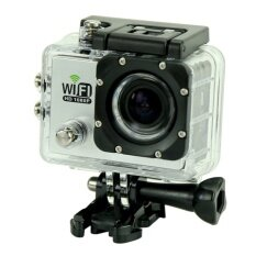 "sport camera SJ6000 WiFi 30 M waterproof DV camera action sports 12MP Full HD 1080 P 30fps 2.0 ""LCD Diving (Silver) - intl"