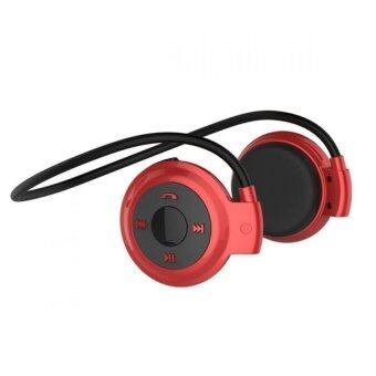 2561 Stereo Bluetooth Headset mini รุ่น 503 (Red )