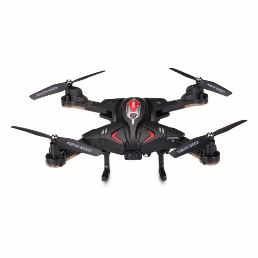 โดรนบังคับ โดรนติดกล้อง โดรนพับขา Syma โดรนถ่ายภาพ รุ่นใหม่ โดรนพับได้ ใส่กระเป๋า โดรนเซลฟี่ New Drone Syma X56HW บินนิ่ง ถ่ายวีดีโอ ภาพนิ่ง บินตามคำสั่ง (แถมฟรี แบตสำรอง)