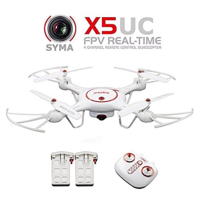 SYMA X5-UC 2.4G Remote Control โดรนติดกล้อง 720P. บันทึกภาพลงใน SD Card (2 Batteries in Box)
