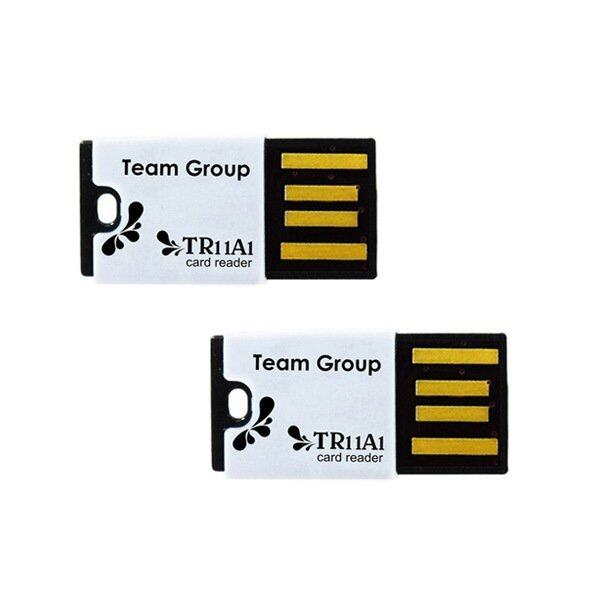 Team Group USB Card Reader for MicroSD 2 pcs ( 2 ชิ้น ) - Black/Black ...