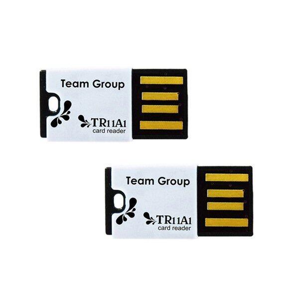Team Group USB Card Reader for MicroSD 2 pcs ( 2 ชิ้น ) - Black/Black ...