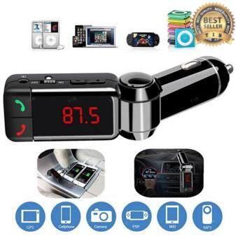 ราคา tib ของแท้100%BC06 Bluetooth Car FM Transmitter รถพร้อมด้วย Dual USB 2A สายในพอร์ตชาร์จรถ MP3