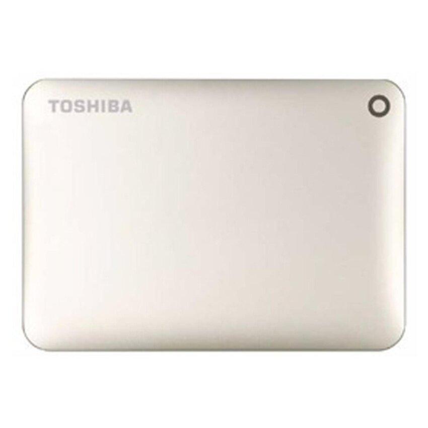 Toshiba HDD Ext 1TB Canvio Connect II 3.0 V8 Satia Gold (HDTC810AC3A1)