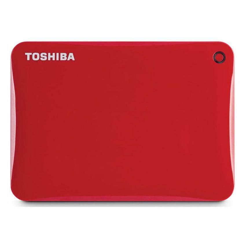 Toshiba HDD Ext 2TB Canvio Connect II 3.0 V8 - Red (HDTC820AR3C1)