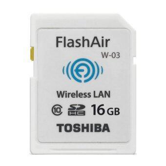 Toshiba Wireless SD Memory Card - Flash Air W-03 16GB