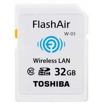 Toshiba Wireless SD Memory Card - Flash Air W-03 32GB