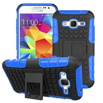 Tough Heavy Duty Shock Proof Defender Cover Dual Layer Armor Combo Protective Hard Case Cover for Samsung Galaxy Core Prime G360 - intl