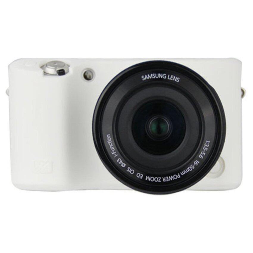 TPU Soft Camera Case Silicone Rubber Protective Body Cover For Samsung NX500 - intl .