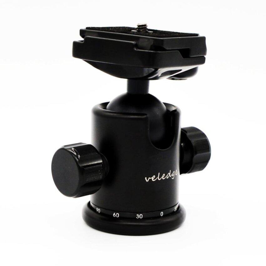Tripod Stand 360 Panoramic Ball Head with Quick Release Clamp Plate - intl .