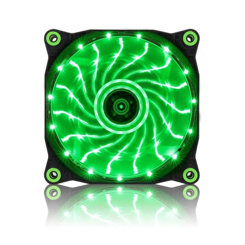 Tsunami Air Series AL-120 LED Lights Silent Edition 15X1 GREEN ...