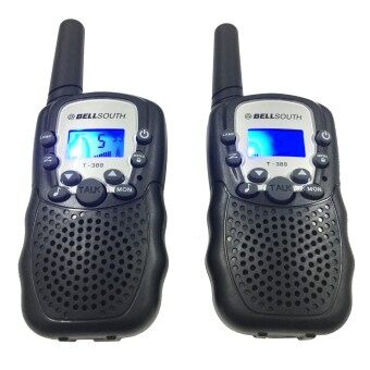 Twosister Mini Walkie Talkie / Two Way Radio Intercom 22 Channels (แพ็คคู่) วิทยุสื่อสาร