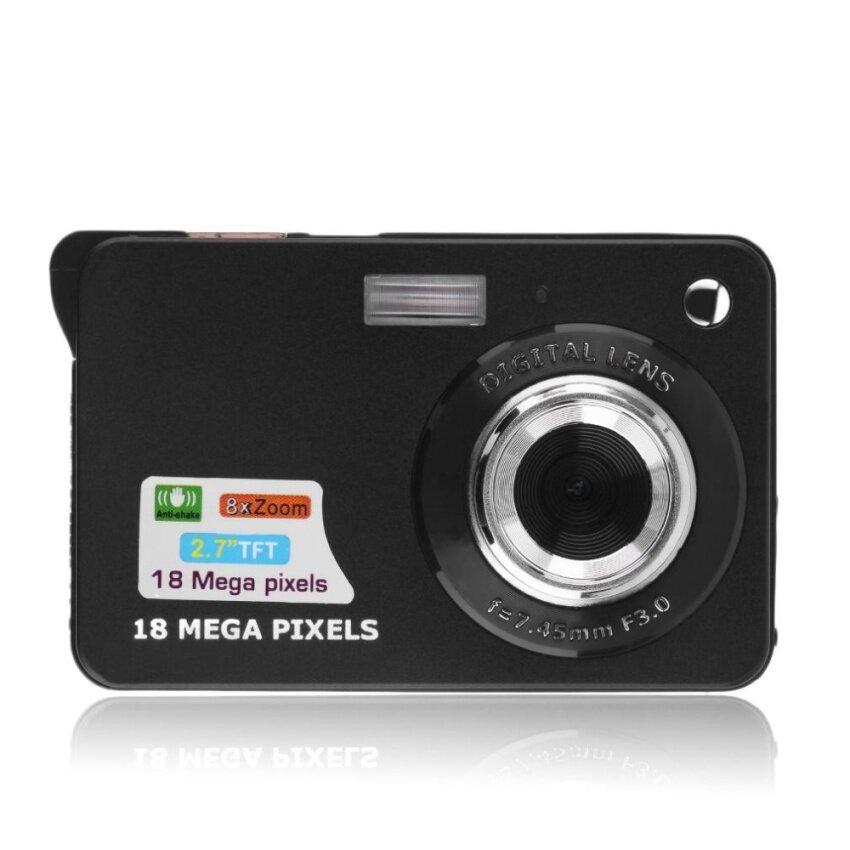 Ubest 2.7 TFT LCD HD 720P 18MP Digital Camcorder Camera 8x Zoom Anti-shake Black - intl