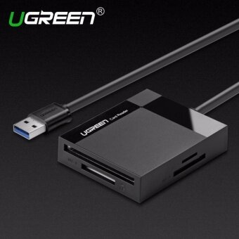 Ugreen All in 1 USB 3.0 Card Reader Super Speed TF CF MS Micro SDCard Reader Multi Smart Memory for Computer USB Card Reader-0.5mcable - intl