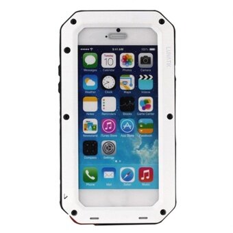 UINN Heavy Duty Case For iPhone Waterproof Shockproof Dust-proof Phone Cover Case I6 White - intl