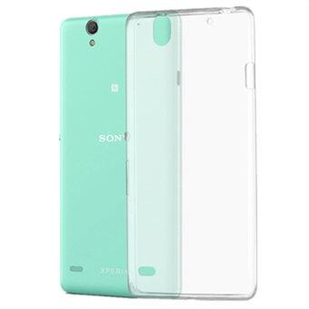Ultra Thin Soft Crystal Transparent TPU Phone Case For Sony XperiaC4 - intl