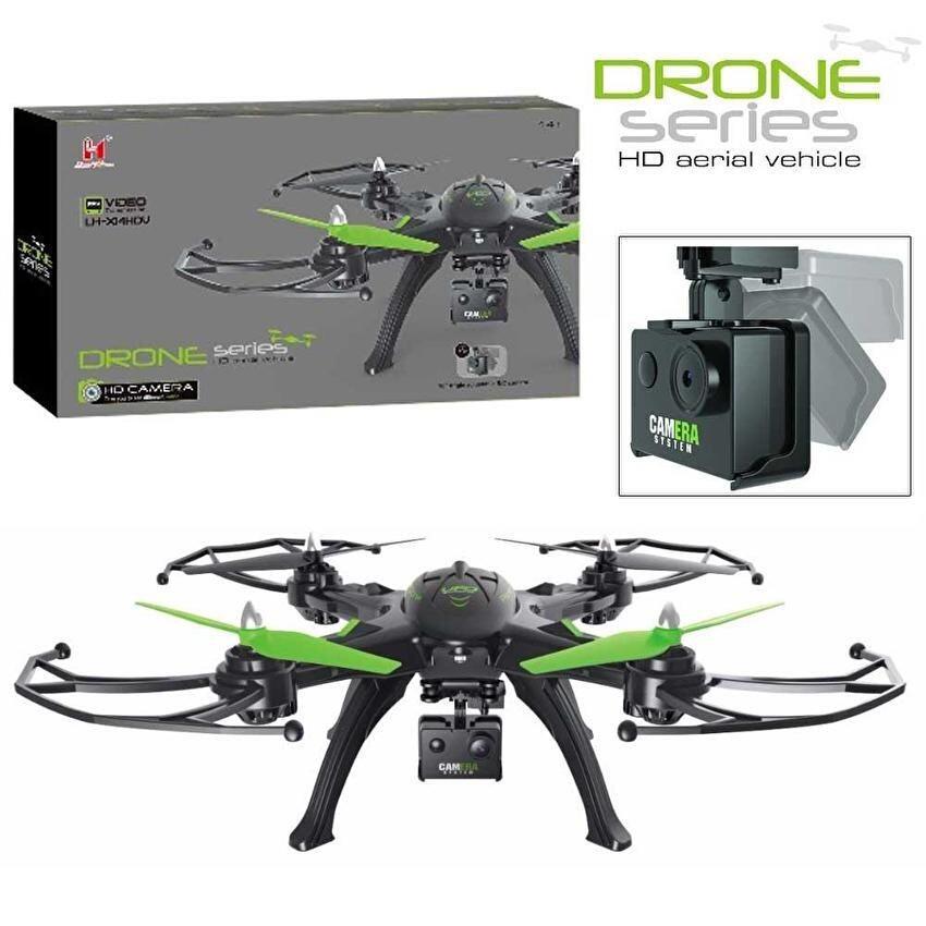 Uni โดรนบังคับ เครื่องบินบังคับDroneติดกล้องความละเอียดสูงWiFiพร้อมระบบถ่ายทอดสดแบบRealtime(NEWมีระบบ ล็อกความสูงได้)+มีปุ่มปรับกล้องได้