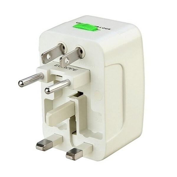 Universal Plug Travel Adapter หัวปลั๊ก เอนกประสงค์ (สีขาว)