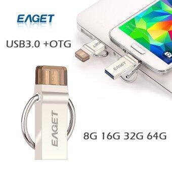 USB 3.0 Metal Waterproof Micro OTG Flash Drive 16GB - Intl