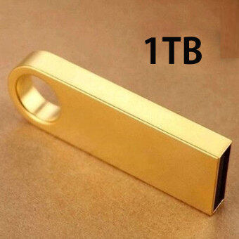 USB Flash Drive 1TB Waterproof USB 2.0 Metal Flash Memory Stick Pen Drive Storage Thumb U Disk