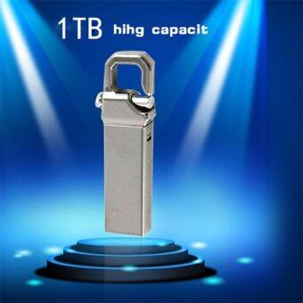 USB Flash Drive 1TB Waterproof USB 2.0 Metal Flash Memory Stick Pen Drive Storage Thumb U Disk - intl