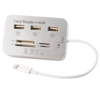 USB HUB 3 พอร์ต Camera Connection Kit Card Reader สำหรับ iPad Air Mini