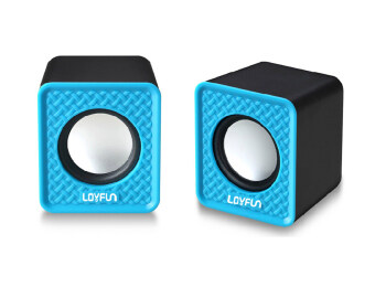 USB Mini Computer Speaker (Blue) - Intl