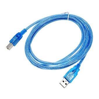 สาย USB TO Printer USB 2.0 ยาว 1.8 M สีฟ้า