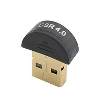 USB Wireless Bluetooth Adapter V 4.0 For Win7 /8/XP (Black) - intl