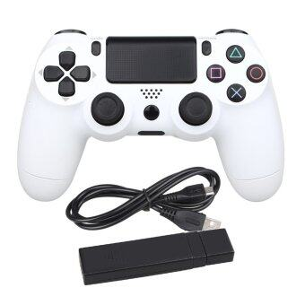 USB Wireless Game Pad Joypad Joystick For Sony playstation 4 PS4 DualShock 4 PC Controller White