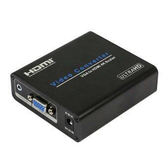 VGA to HDMI 4Kx2K Scaler Converter