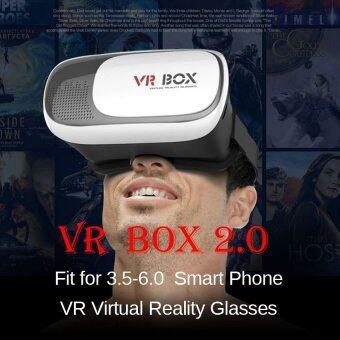 Virtual Reality VR BOX 2.0 3D Glasses Google cardboard Helmet 3D Video Headset Glasses - intl