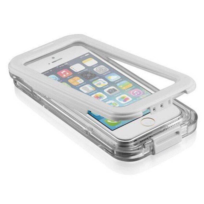 Vococal เคสกันน้ำปิดบังสำหรับ iPhone 5/5s (ขาว) ...