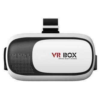 """VR Box 2.0 2nd Virtual Reality Headset 3D Video Movie Game Glasses for 4.7""""-6"""" IOS Android Smartphones for iPhone 7, 7 Plus 6 - intl"""