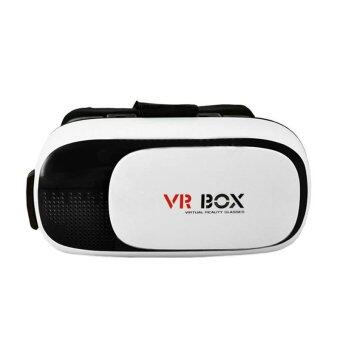 ประเทศไทย VR Box Virtual Reality 3D Glasses RT-V01 (สีขาว)