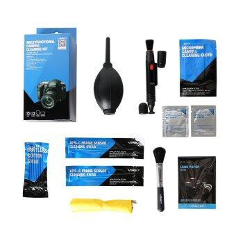 VSGO 9 In 1 Multifunctional Camera Cleaning Kit for Lenses SensorsLCD Screen