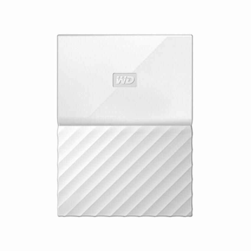 WD HDD - HARD DISK EXTERNAL 2.5 2TB MY PASSPORT 2017 WHITE (WDBYFT0020BWT) .